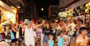 Bodrum'da Karaova Bağ Bozumu Şenlikleri başladı
