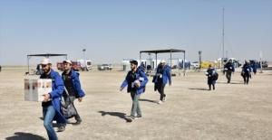 Öğrenciler TEKNOFEST'te roketleriyle yarışıyor