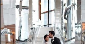 Cenk Öztanık ile Ecem Kazancı'nın düğününe ünlü akını