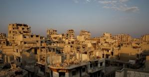 Suriye'deki iç savaşın en çok iz bıraktığı kentlerden biri Şam.
