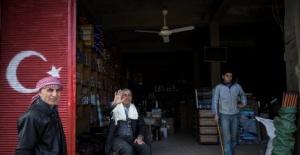 Afrin'de terör örgütünün izleri silindi
