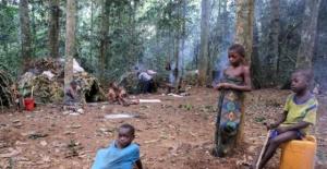 AFRİKA'DA YAŞAYAN PİGME KABİLESİNDEN 12 KARE