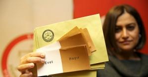 Halk oylamasında kullanılacak malzemeler tanıtıldı