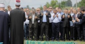 Srebrenitsalı Hatice Mehmedovic son yolculuğuna uğurlandı