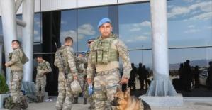 224 asker, Suriye için yola çıktı
