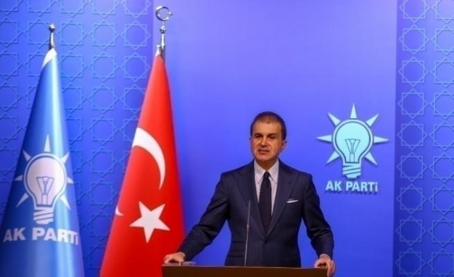 """Ömer Çelik: """"CHP'li Çeviköz, Türkiye'yi Amerikalılara şikayet ediyor"""""""