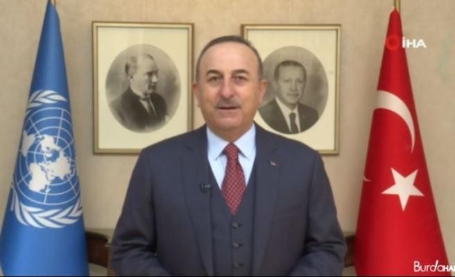 """Bakan Çavuşoğlu: """"PKK'nın 13 masum insanı öldürmesine dünya yine sessiz kaldı"""""""