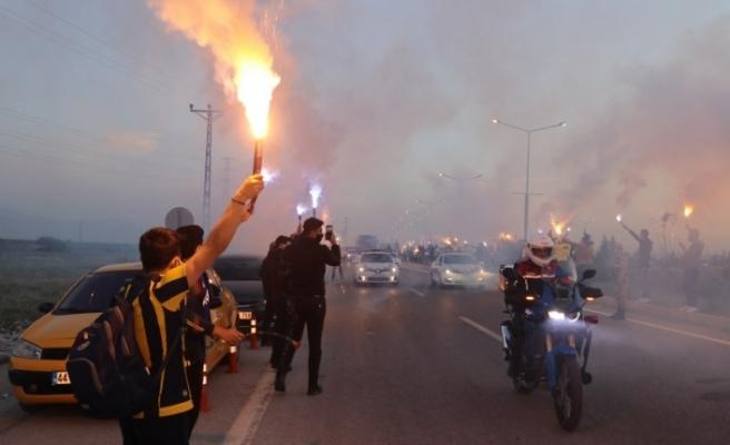 Fenerbahçe'ye Malatya'da coşkulu karşılama