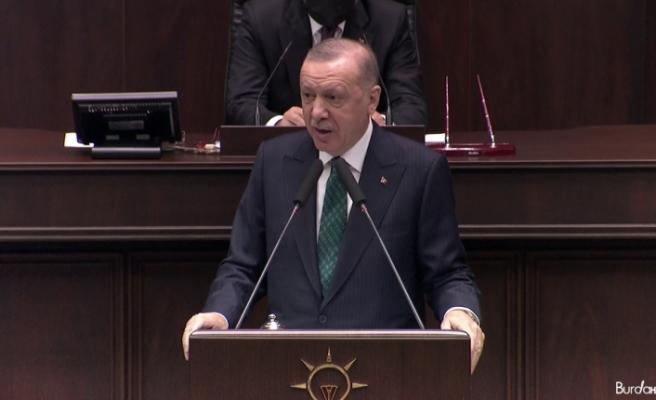 """""""İsteseniz de istemeseniz de Kanal İstanbul'u yapacağız ve milletimizin emrine amade edeceğiz"""""""