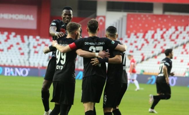 Sivasspor ligde 10. kez kazandı