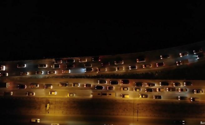 43 ilin geçiş güzergahından 9 günlük bayram tatilinde 2 milyon araç geçti