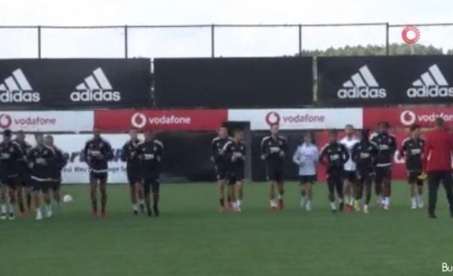 Beşiktaş, Borussia Dortmund hazırlıklarını tamamladı