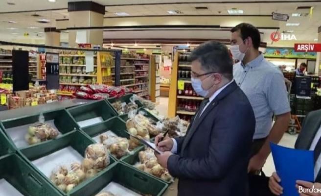 Marketlerde fahiş fiyat denetiminde müfettişler harekete geçti