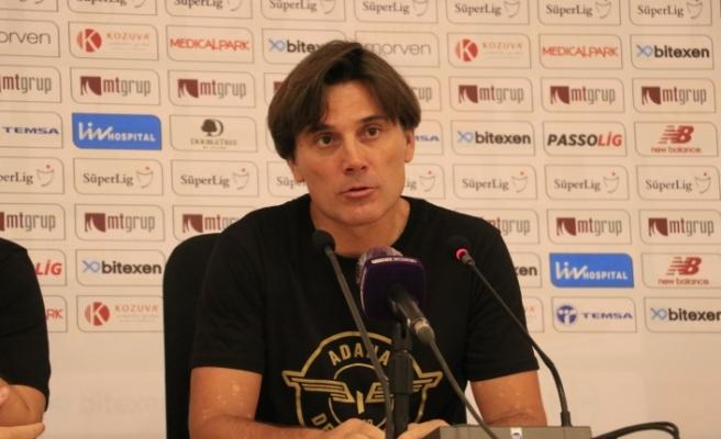 """Vincenzo Montella: """"Sonuç için çok çok mutluyum"""""""