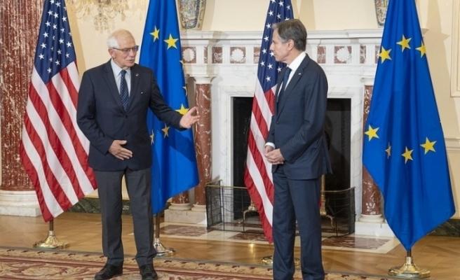 ABD Dışişleri Bakanı Blinken ile AB Yüksek Temsilcisi Borell ile görüştü