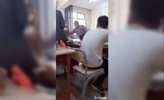 Felsefe öğretmeninden ders ortasında gürültü dayağı