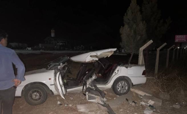 Şanlıurfa'da feci kaza: 2 ölü, 7 yaralı