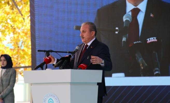 """Şentop: """"Türkiye'de vesayetçi sistem dediğimiz sistem, parlamenter sistem içerisinde kolay işliyor"""""""