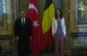 Bakan Çavuşoğlu, Belçika Dışişleri Bakanı Wilmes ile bir araya geldi
