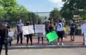 Beyaz Saray çevresinde protestoların şiddeti azaldı