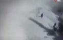 El Bab'daki bombalı saldırıya ait patlama anı kamerada