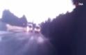Silivri'de buzlanma kazası kamerada