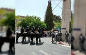 İsrail mahkemesi önünde İsrail güçleri ve Filistinliler arasında arbede: 1 gözaltı, 2 yaralı