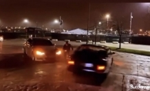 İstanbul trafiğinde yasağa rağmen asker uğurlama terörü kamerada