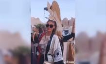 Türkiye güzeli önce eğlendi, ardından yangınlar için yardım istedi