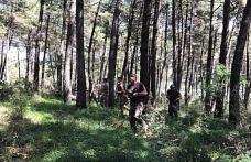 Maltepe'de orman yangınlarına karşı helikopter destekli ve atlı denetim
