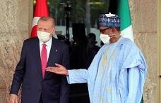 Cumhurbaşkanı Erdoğan, Nijerya Devlet Başkanı Buhari ile görüştü