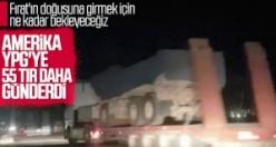 ABD, Suriye'deki YPG'lilere yeni sevkiyat yaptı