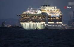 Japonya'da karantinaya alınan gemiyle ilgili açıklama