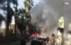 Suriye'nin Türkiye sınırında patlama: 4 yaralı