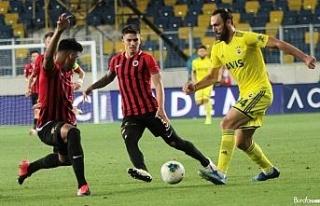 Süper Lig: Gençlerbirliği: 1 - Fenerbahçe: 1 (Maç...