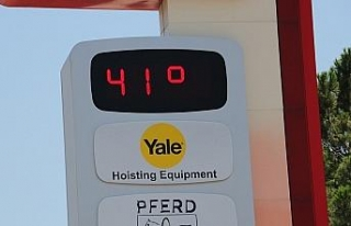 Termometreler 41 dereceyi gösterdi