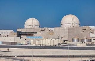 BAE'de Arap dünyasının ilk nükleer santrali...