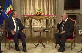 Bakan Çavuşoğlu, Malta Devlet Başkanı Vella ile...