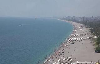 Deniz suyu sıcaklığı hava sıcaklığıyla eşitlendi,...