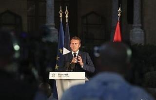 """Macron: """"4 Ağustos umutsuzluğa çarpan bir..."""