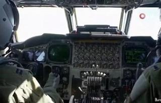 ABD ve Ukrayna uçakları birlikte uçuş yaptı,...