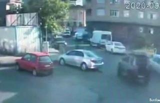Ataşehir'de evi soymaya çalışan hırsızlar...