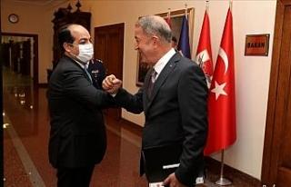 Bakan Akar, Libya Ulusal Mutabakat Hükümeti Başkanlık...
