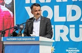 """Bakan Pakdemirli: """"Türkiye artık her konuda iddialı..."""