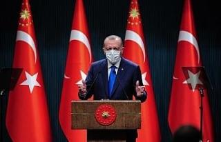 """Cumhurbaşkanı Erdoğan: """"Anı geldiğinde korkarım..."""