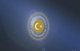 """Dışişleri Bakanlığı: """"AP'nin Doğu Akdeniz..."""
