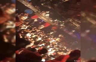 İstanbul'daki gece kulüplerinde korkutan görüntüler...