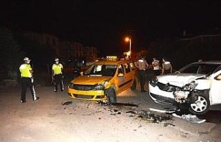 Kaza yapan alkollü sürücü kayıplara karıştı