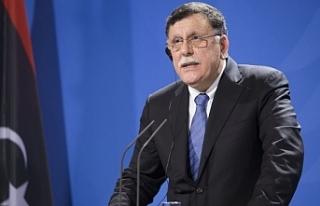 Libya Ulusal Mutabakat Hükümeti Başbakanı Fayiz...