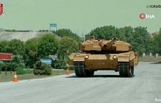 M60T ve Leopard 2A4 tanklarının kabiliyeti yeni...